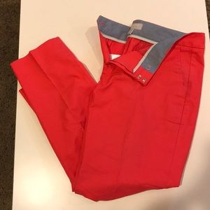 Banana Republic red pants